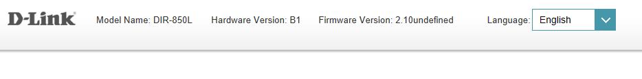 DIR-850L Firmware