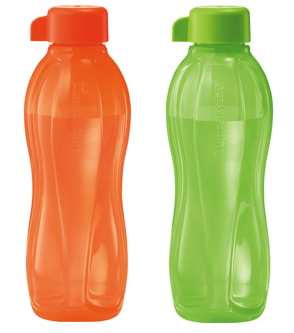 Eco Bottle - Spring - Orange and Green 500ml