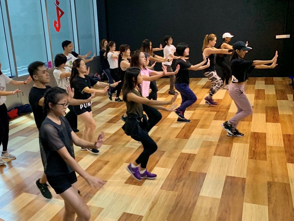 Dance & fitness classes catered for adults without any dance background or experience! We have classes like K-Kardio Dance (Kpop workout), Zumba, Pilates, Kickboxing, Hiphop, Kpop MTV dance etc.