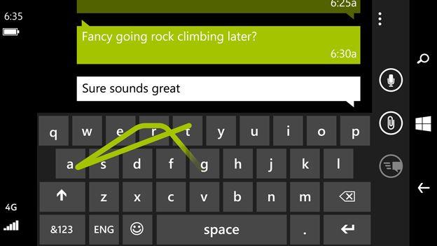 Wordflow Lumia 635