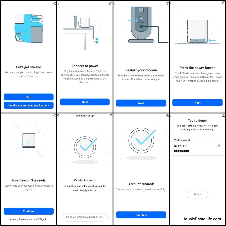 Nokia WiFi app