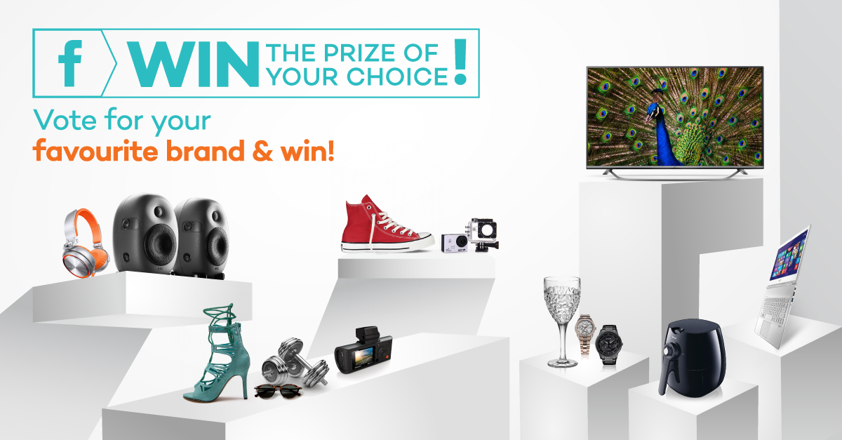 Vote for your favourite brand on Lazada Singapore & WIN!