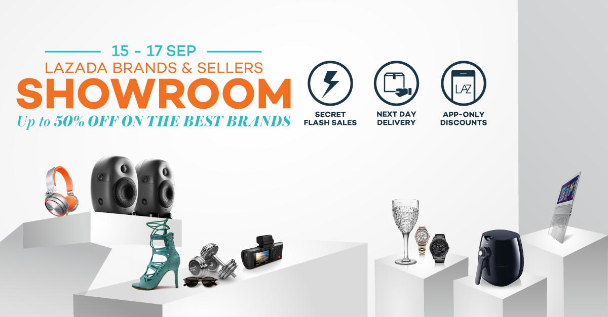 Brands & Sellers Showroom