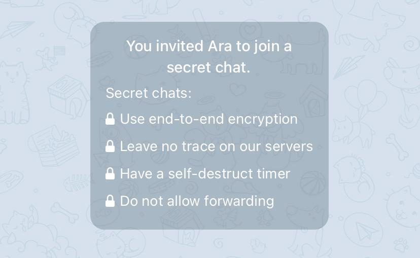How to Start an Encrypted Chat on Telegram?