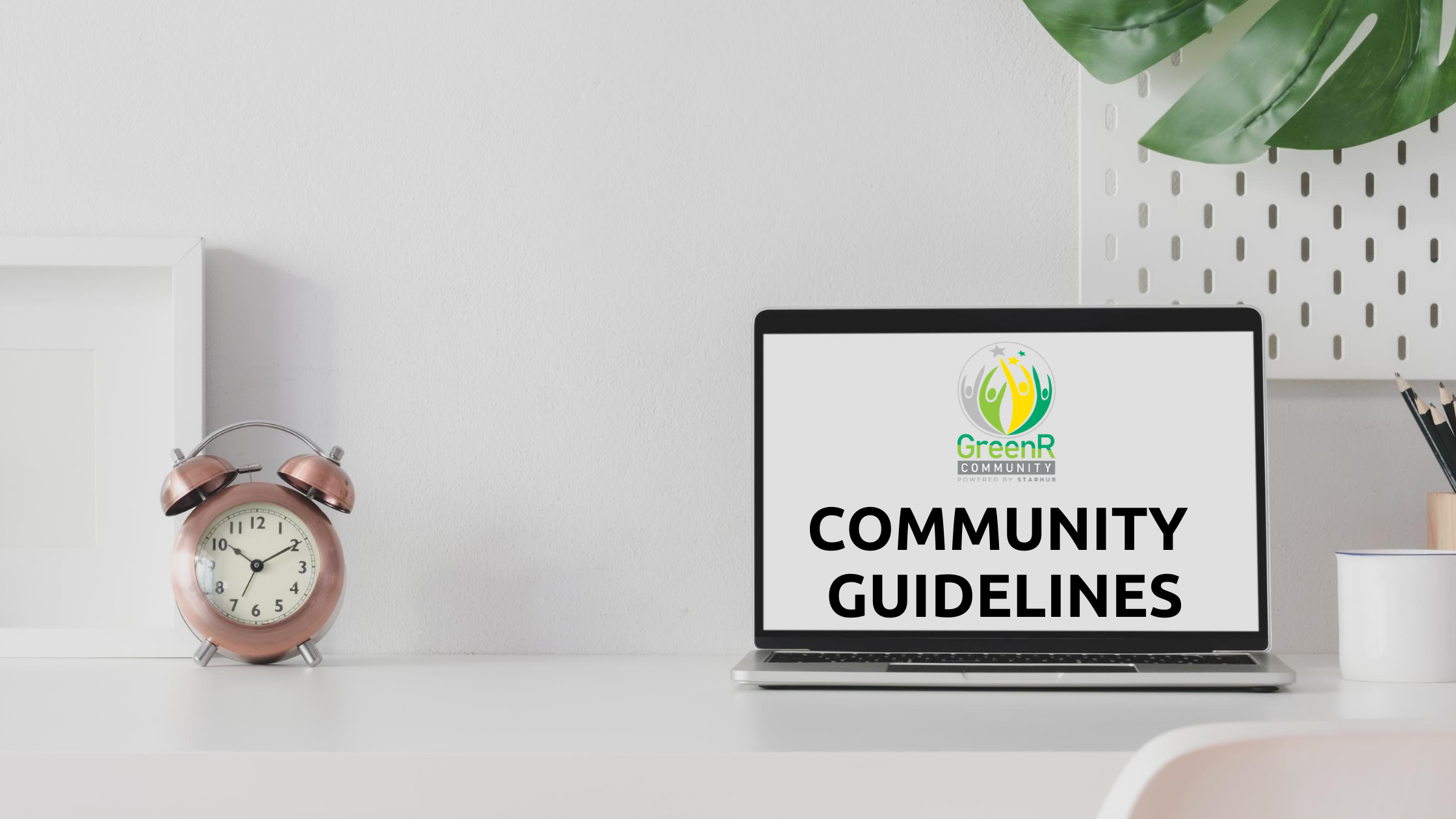 GreenR Community Guidelines