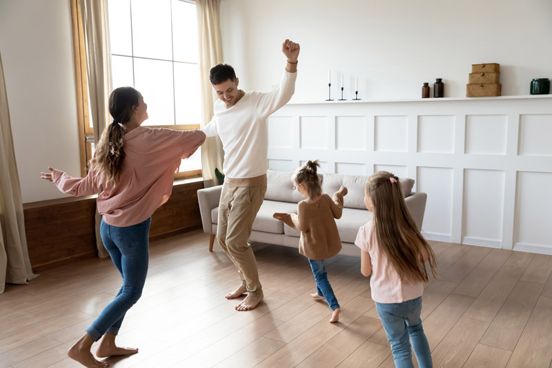 Songs that you can dance to with your toddler