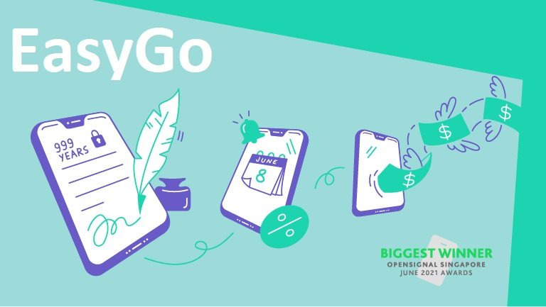 Get a new phone with StarHub's EasyGo