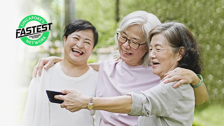 StarHub's Seniors Go Digital Mobile Plans